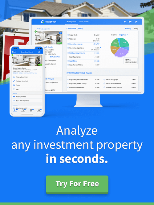 Try DealCheck Free Today - Analyze Any Investment Properties in Seconds