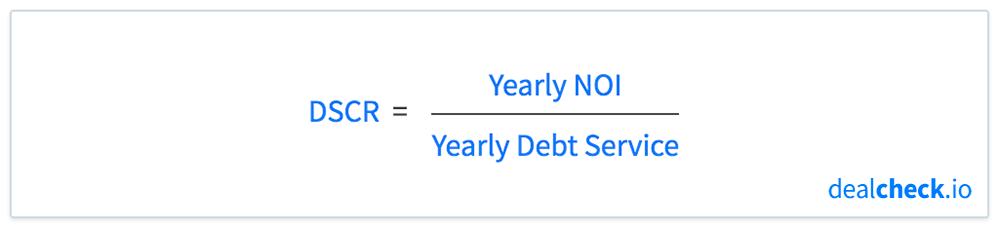 The Debt Service Coverage Ratio (DSCR) Formula