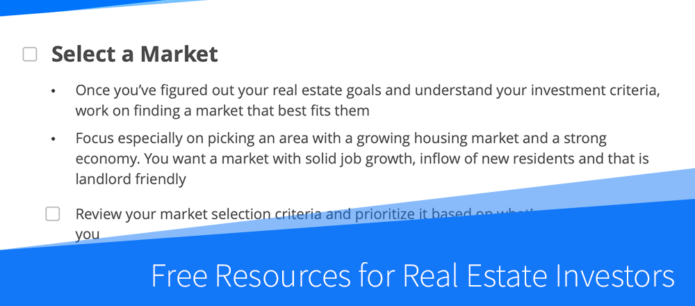 New: Free Resources for Real Estate Investors