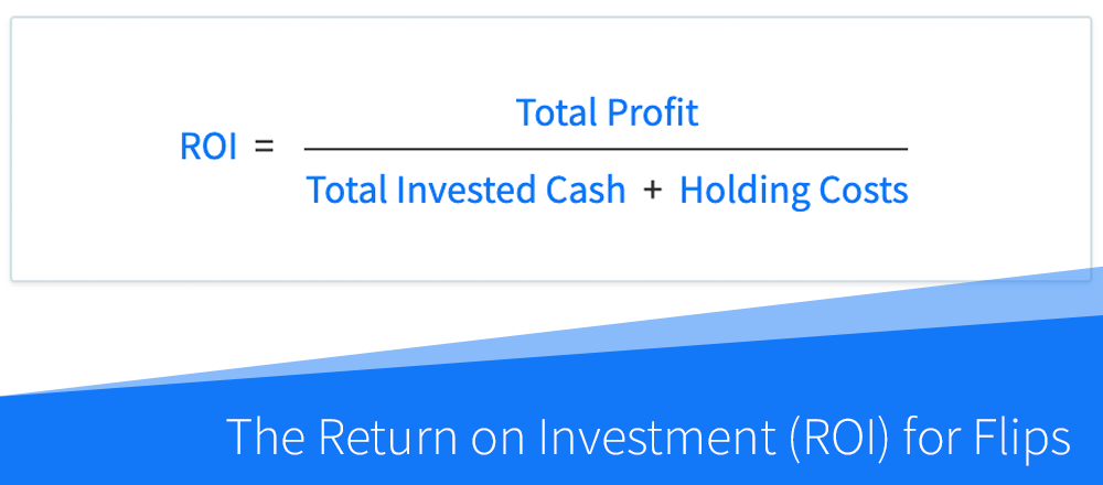 How to Calculate the Return on Investment (ROI) for Flips and Rehab Projects