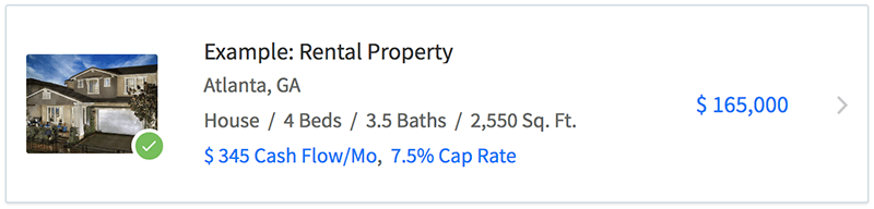 Property lists have been improved to show additional property details