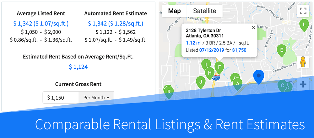 New Feature: Comparable Rental Listings & Rent Estimates