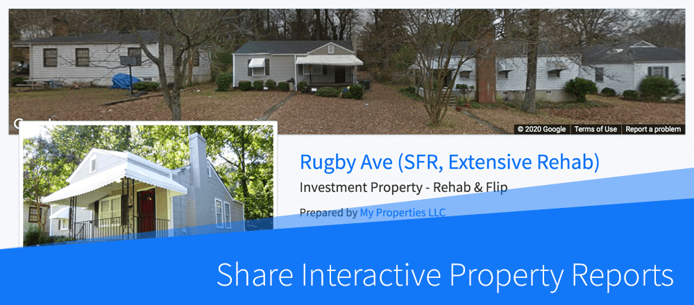 New Feature: Share Interactive Property Reports with One Click