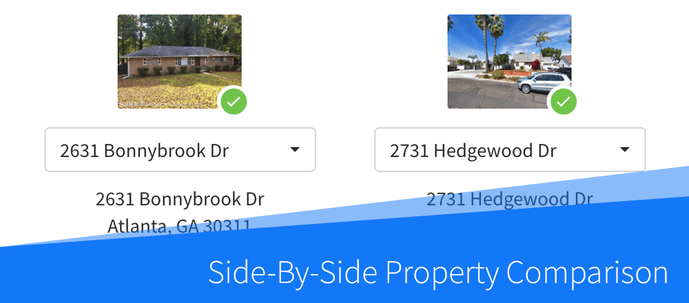 New Feature: Side-By-Side Property Comparison